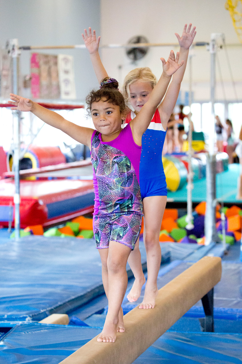 Gymnastics at Newport YMCA