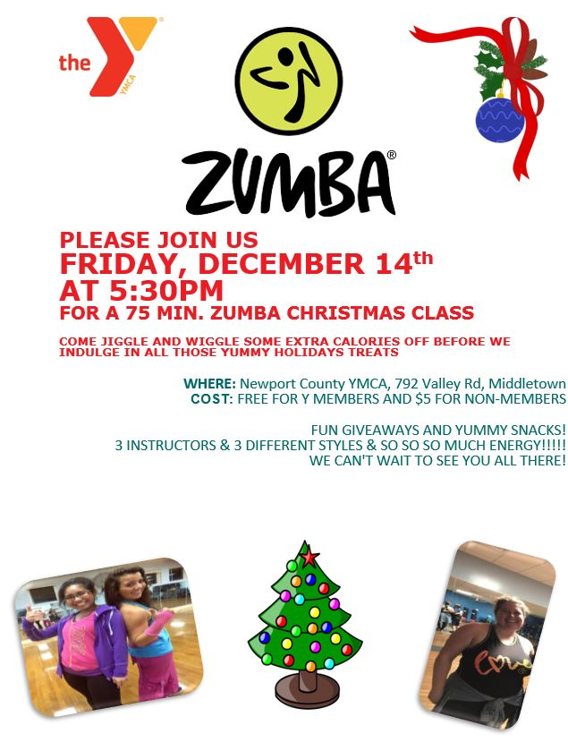 Zumba Christmas Images.Zumba Christmas Class Newport Ymca