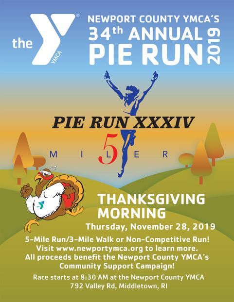 2019 pie run poster